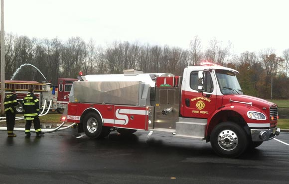 Working Together with Sandyston Fire Dept, NJ