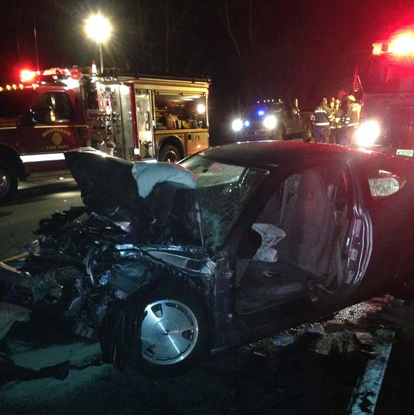 MVA on Rt. 206‏