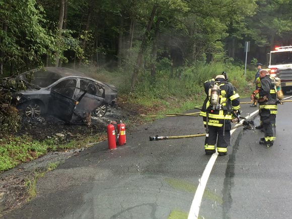 Fire Deptartments Rescue Car Driver