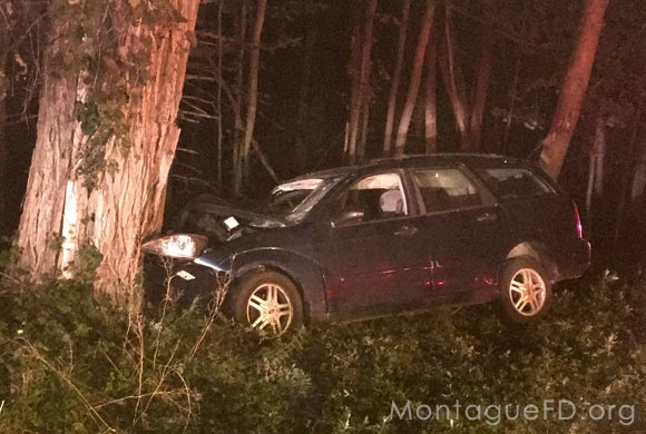 Car Hits Tree‏