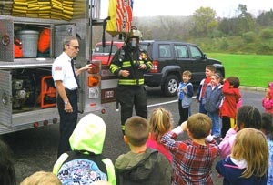 fire prevention at Montague School