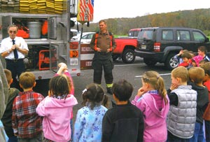 fire safety at Montague School