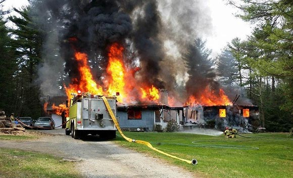 Sparrowbrook, NY house fire