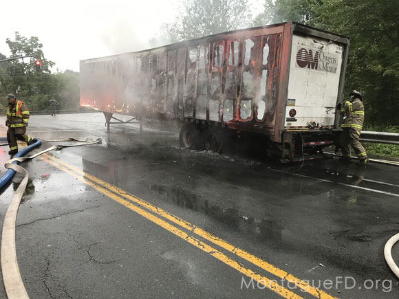Total Loss Tractor Trailer‏