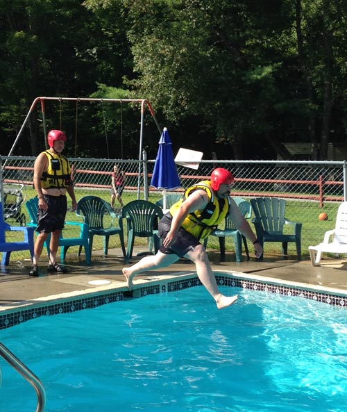Water Rescue Training, Fire Dept.